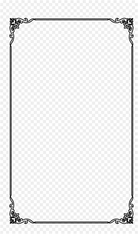 picture frame computer file  elegant black frame
