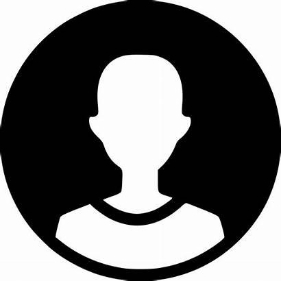 Profile Icon Round Clipart Male Circle Transparent