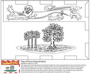 flag  prince edward island coloring page  printable coloring pages