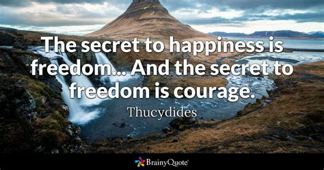 thucydides  secret  happiness  freedom