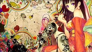 Anime Art Wallpaper - WallpaperSafari