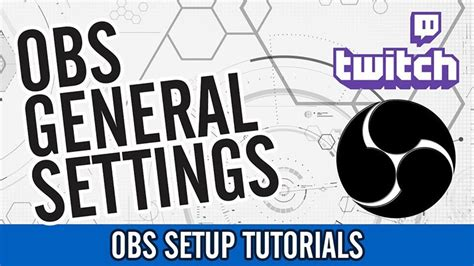 Obs Settings For Twitch Tv Streaming