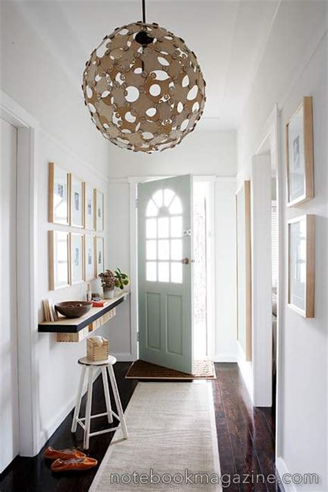 Small Entryway Lighting Ideas - foyer design decorating tips and pictures