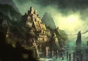 Mythology of Gods images Home of the Aztec Gods HD ...