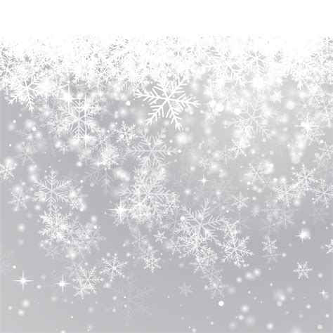 Winter Winter Background Snowflake by Winter Snowflake Background Vector