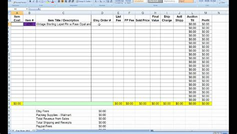 retail business manager excel template spreadsheet
