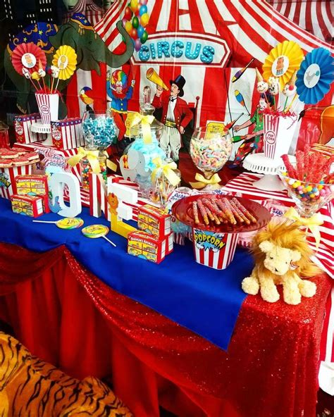 circus carnival birthday party ideas   dessert