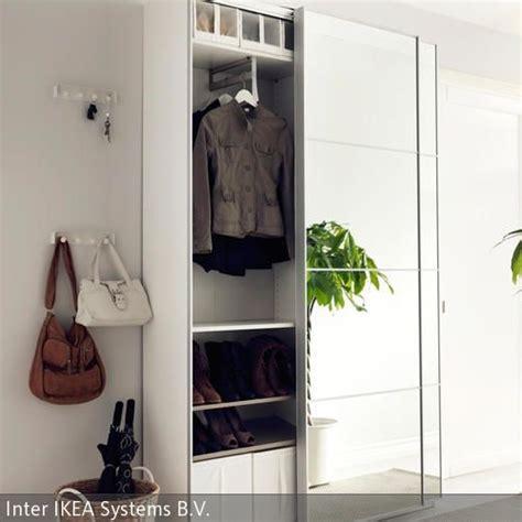 Garderobenschrank Weiß Ikea by Die Besten 25 Garderobe Kleiner Flur Ideen Auf