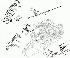 Stihl Ms 362 Chainsaw  Ms362  U0026 C  Parts Diagram Intended