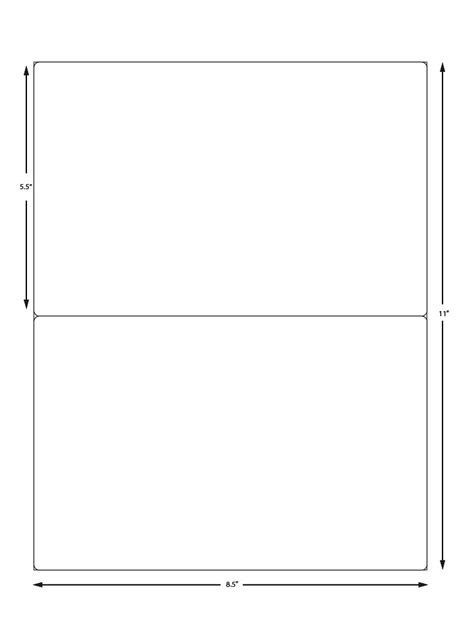 Avery 5126 Template by Avery Label Sheet 5126 Compatible 2 Labels Per Sheet