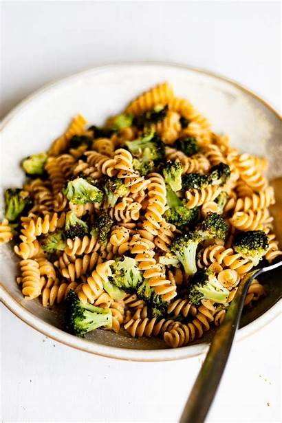 Broccoli Pepper Lemon Garlic Rotini