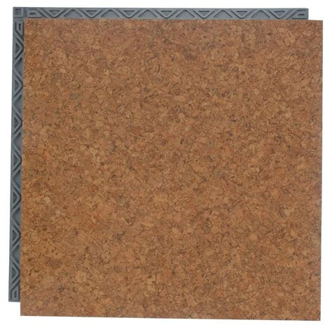 Vinyl Floor Underlayment Home Depot by Coupons For Place N Go Vinyl Tile Cork 18 5 In X 18 5 In
