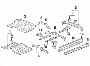Chevrolet Silverado 1500 Rocker Panel Reinforcement  Front