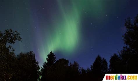 Tips Kehamilan 8 Minggu Foto Menikmati Fenomena Aurora Borealis Membakar Langit