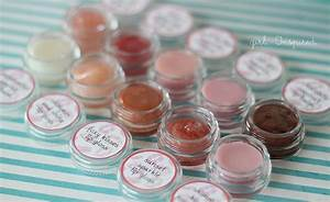 lip gloss diy and printable labels girl inspired With how to make your own lip balm labels