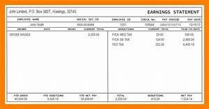 9 1099 pay stub template free 3canc With 1099 pay stub template free
