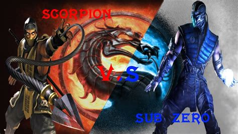 Whos The Best Sub Zero Or Scorpion Wallpaper With Free