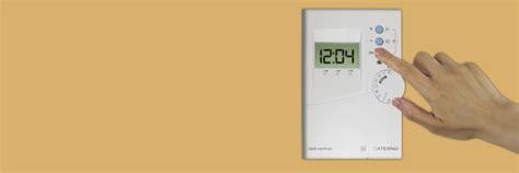 programmateur de chauffage electrique sans fil aterno