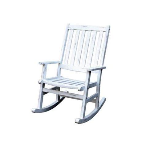 home styles bali hai white patio rocking chair 5660 582