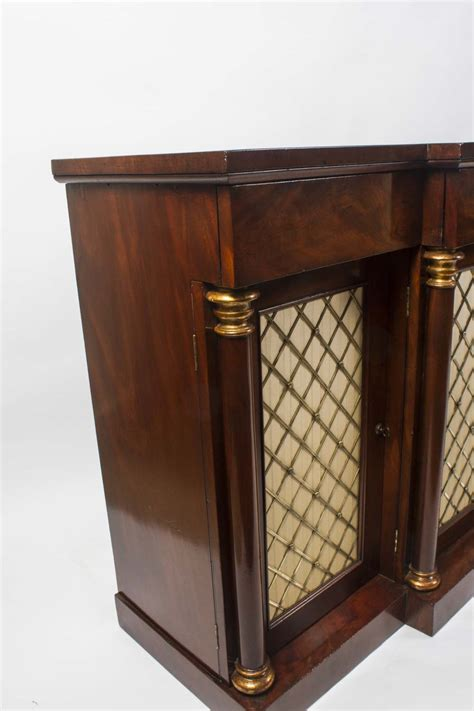 Breakfront Sideboard by Regent Antiques Sideboards Antique Mahogany Breakfront