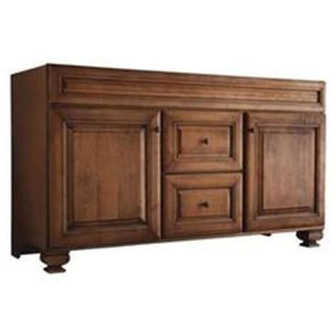 Allen And Roth 60 Inch Bathroom Vanity by Shop Allen Roth Ballantyne Mocha With Glaze