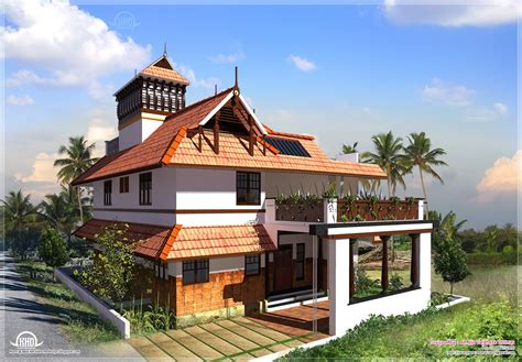 style house kerala traditional home square feet house