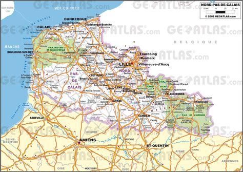 Carte Nord De La by Carte Du Nord Pas De Calais Plusieurs Cartes De La R 233 Gion