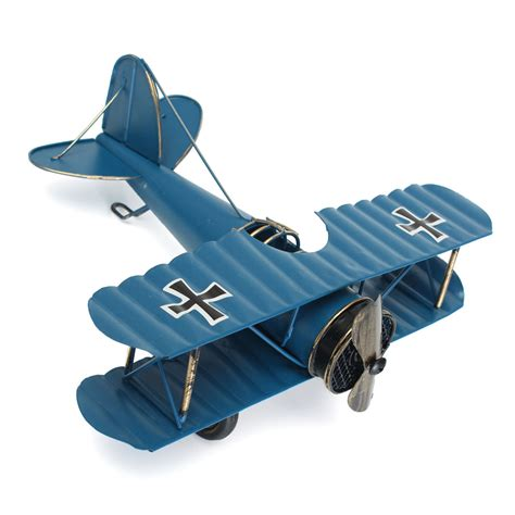 home plans with indoor large retro blue plane airplane aircraft model home decor