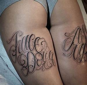 Guys, what do you think about back of thigh tattoos on ...
