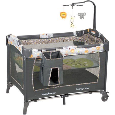 baby trend crib baby trend nursery center playard bobbleheads walmart