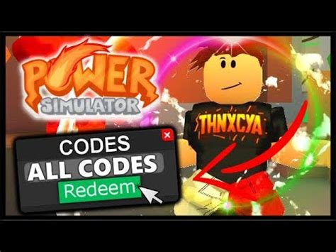roblox power simulator codes roblox power simulator