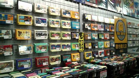 Rvgs specializes in retro games and consoles for nintendo, sega, playstation, xbox, atari and others. Retro Games Store in Akihabara - YouTube