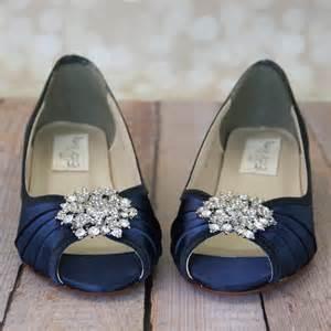 navy blue bridesmaid shoes blue wedding shoes navy blue shoes custom wedding shoes