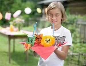 Basteln Mit Plastikbecher : basteln mit kindern kostenlose bastelvorlage basteltipps f r den kindergeburtstag l we ~ Orissabook.com Haus und Dekorationen