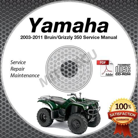 grizzly 350 repair manual