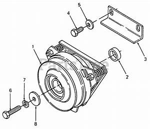 Cub Cadet Parts On The Pto Clutch Diagram For 1641  142
