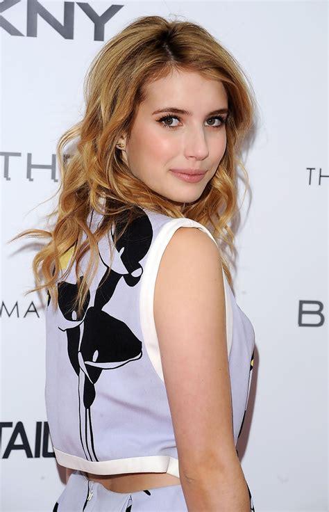 Emma Roberts Long Curls - Emma Roberts Long Hairstyles ...