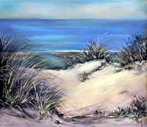 Peindre Au Pastel : dessin et peinture vid o 1937 dunes de sable sur la c te d 39 opale marine r alis e au ~ Melissatoandfro.com Idées de Décoration