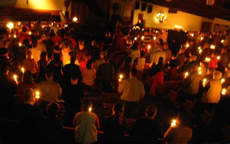christmas eve candle lighting service 7 00 pm