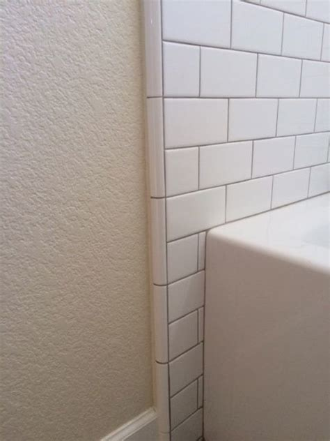 corner tile trim studio design gallery best design