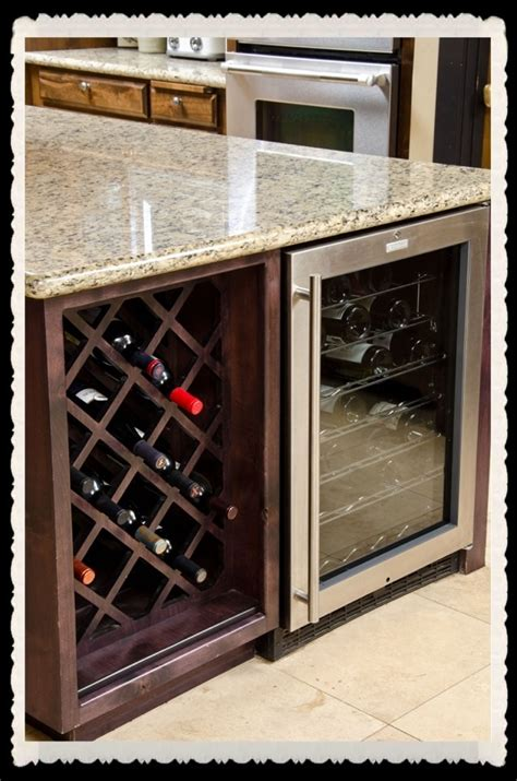 kitchen islands with wine racks 23 best images about wine racks on wine