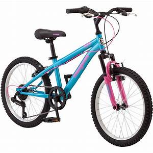 Girls Mountain Bike Bicycle Mongoose 20 U0026quot  Bmx Style Frame Kids Cycling Bikes New