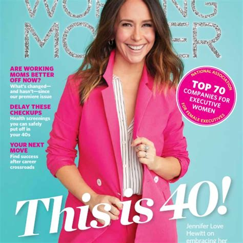 foto de Jennifer Love Hewitt is the Cover Star of Working Mother