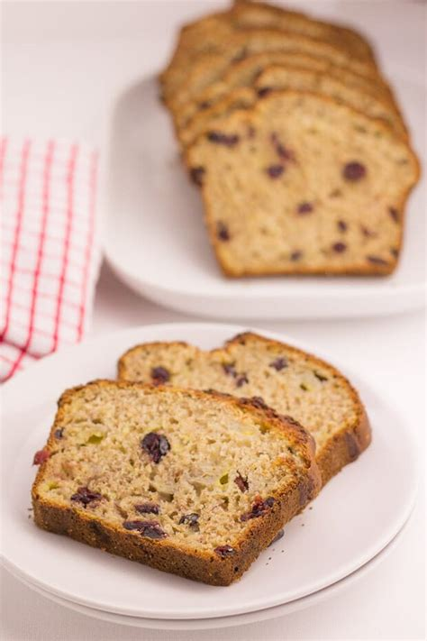 cranberry banana bread neils healthy meals