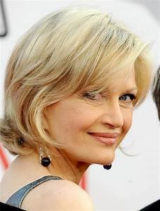 Hairstyles For Women Over 40 With Bangs - Elle Hairstyles