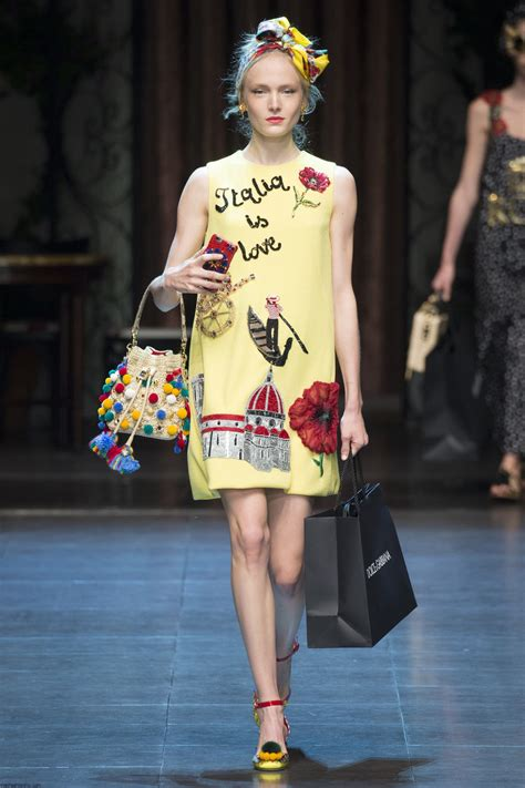 Dolce Gabba by Dolce Gabbana Summer 2016 Collection Milan