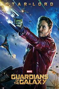 Poster & Affisch Guardians of the Galaxy - Star Lord på ...