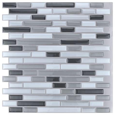 wall panels for kitchen backsplash peel and stick kitchen backsplash wall tiles 12 quot x12 quot 10