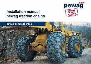 Installation Manual Pewag Compact Cross By Pewag