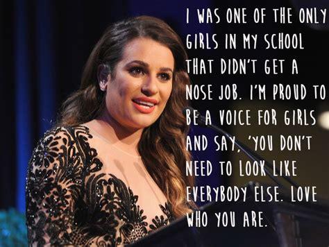 Famous Celebrity Quotes  Lea Michele  29 Celebrities